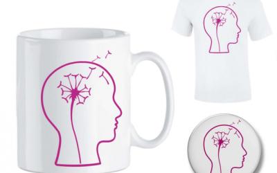 Afbeelding hersenen als bloem